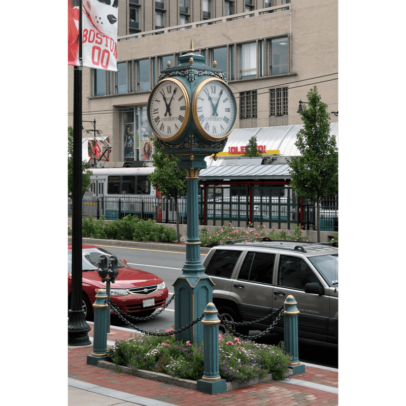 Street Clock 4 Dial Howard Large Electric Time 174