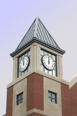 6600 Round Surface 54 Quot Backlighted Tower Clocks