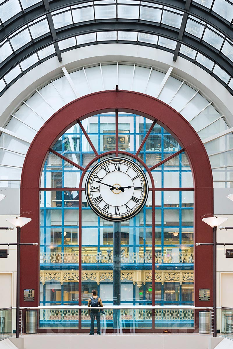 Crocker National Bank Galleria Tower Clock